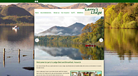 Tourism website, Larrys Lodge